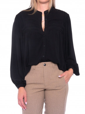 Solova jeffie blouse black