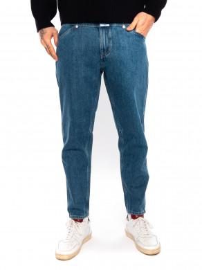 X-lent jeans mid blue