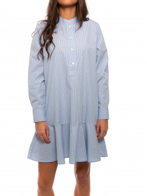 Laury shirt dress blue stripe