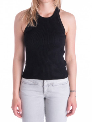 Willy knit top black