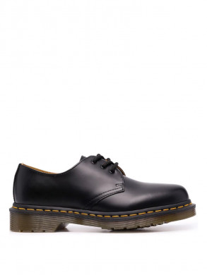 1461 shoes smooth black