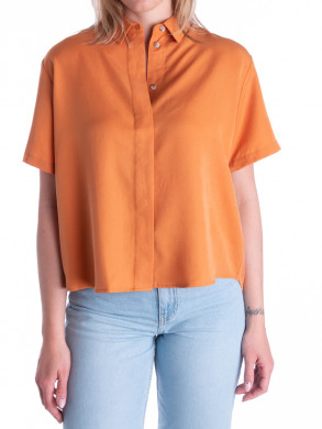 Mina shirt golden ochre