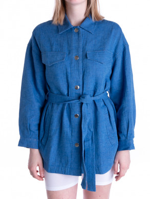Calous jacket denim blue