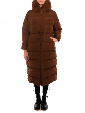 Big cloud coat brown