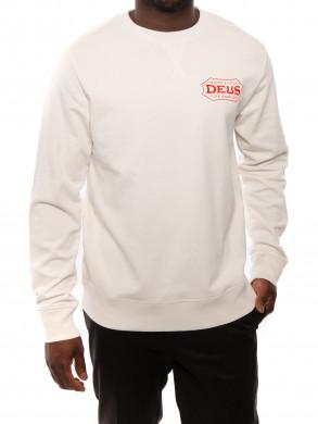 Paloma crew sweater white