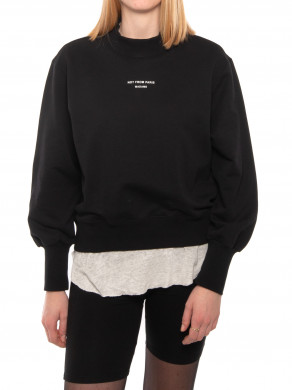 Nfpm cropped sweater black