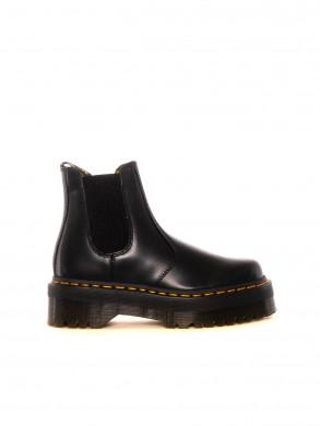 2976 Quad plateau boots polished black