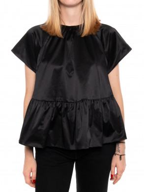 Star blouse black