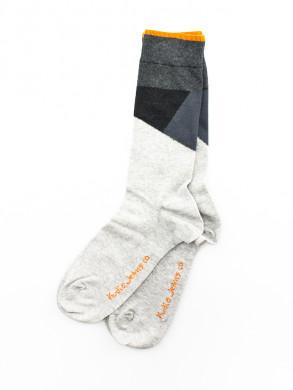 Socks grey melange