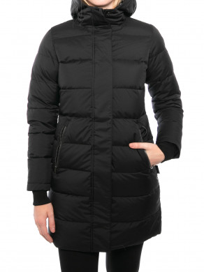 Aris down coat black