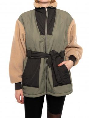 Carlise teddy jacket cold army XS