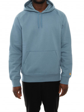 Hooded chase sweater mossa
