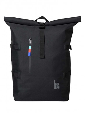 Rolltop backpack black