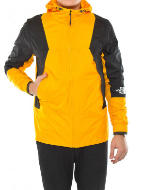 Light windshell jacket orange