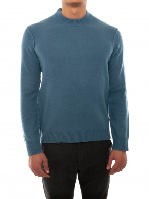 Calore knit pullover blue heaven
