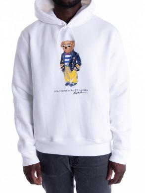 Magic fleece sweatshirt white