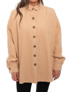 Cord jacket cord beige