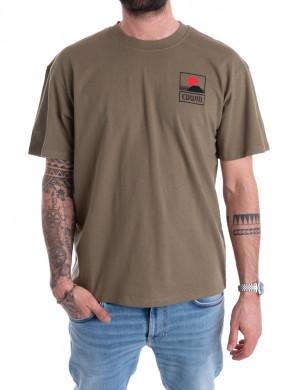 Sunset t-shirt fuji green