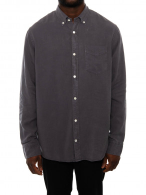Levon bd shirt dark grey