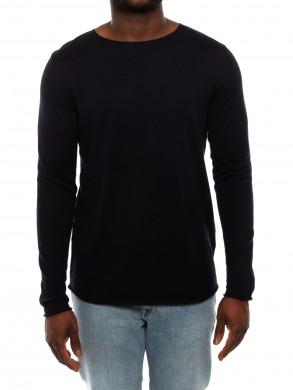 Marc knit pullover navy