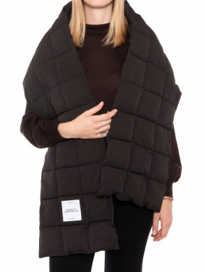 Dubbo quilted scarf black
