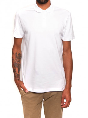 Harlo polo shirt white