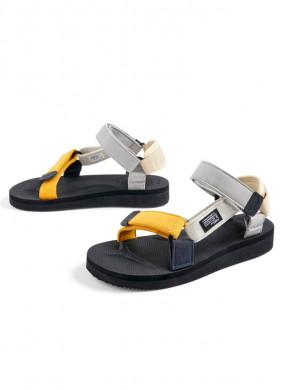 Suicoke X HAY sandals mango splash