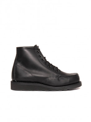 Wmns 6 inch moc boots black boundary