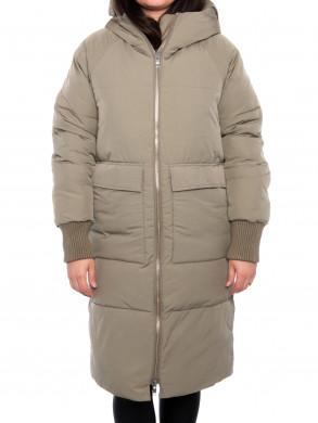 Belfast coat pale olive