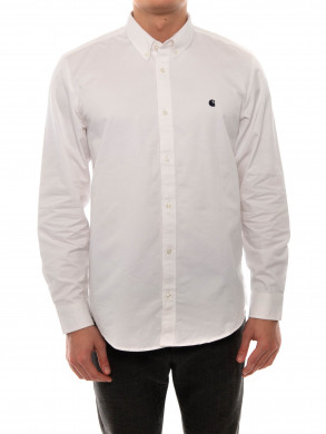 Madison shirt white navy