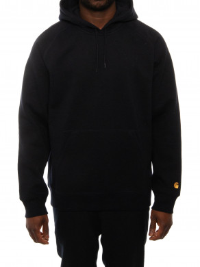 Hooded chase sweater navy