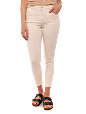 Skinny pusher jeans creme