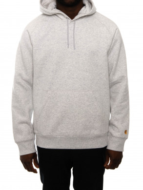 Hooded chase sweater ash