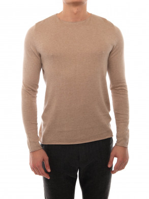 Marc knit pullover boulgour chine