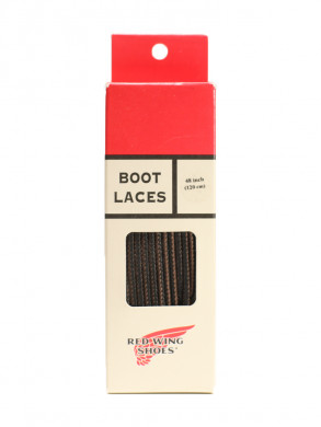 48 inch boot laces black brown