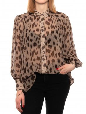 Kacey blouse leopard