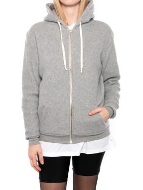 Kima zipper grey mel