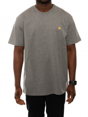 Chase tee d.grey gold