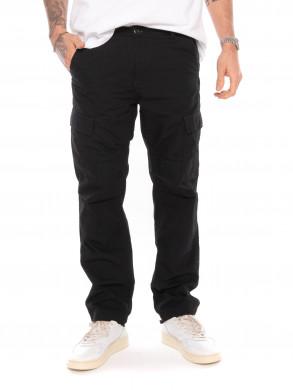 Aviation cargo pants black