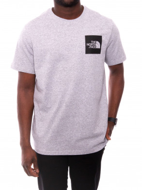 Fine t-shirt heather grey