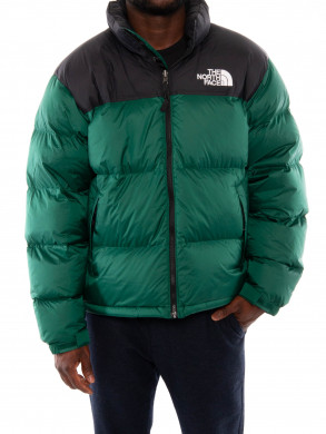 Nuptse men jacket night green