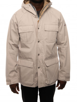 Deer hunter parka greige