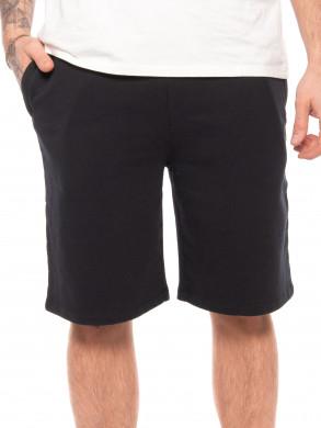 Tonal fox jog shorts black