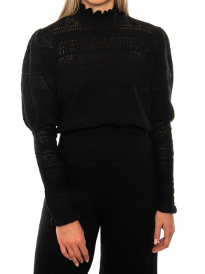 Darli knit pullover black