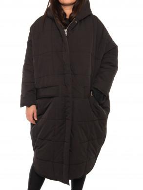 Saskatoon puffer coat black