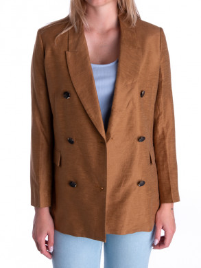 Lia blazer bronze brown