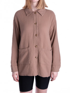Heelag overshirt ginger snap