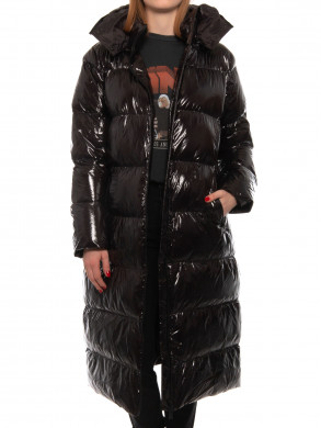 Mary puffer coat black