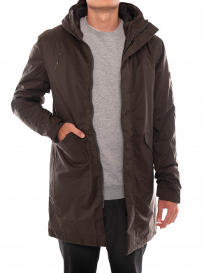 Long jacket 7642 army