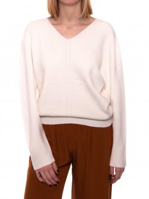 Jilli pullover egret